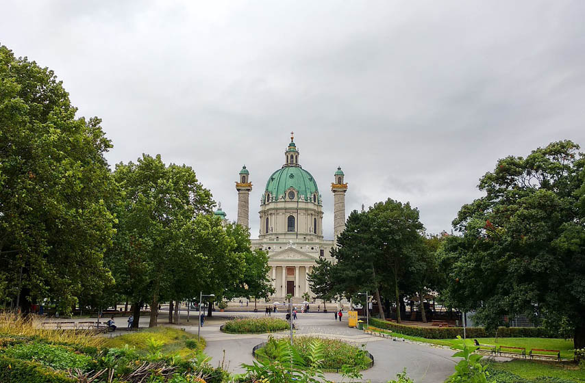 Beč, Austrija, parkovi