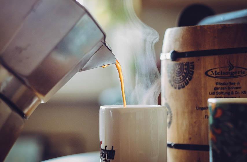 kafa, Kafa koja topi kilograme, Kafa za mršavljenje, Kafa sa kokosom