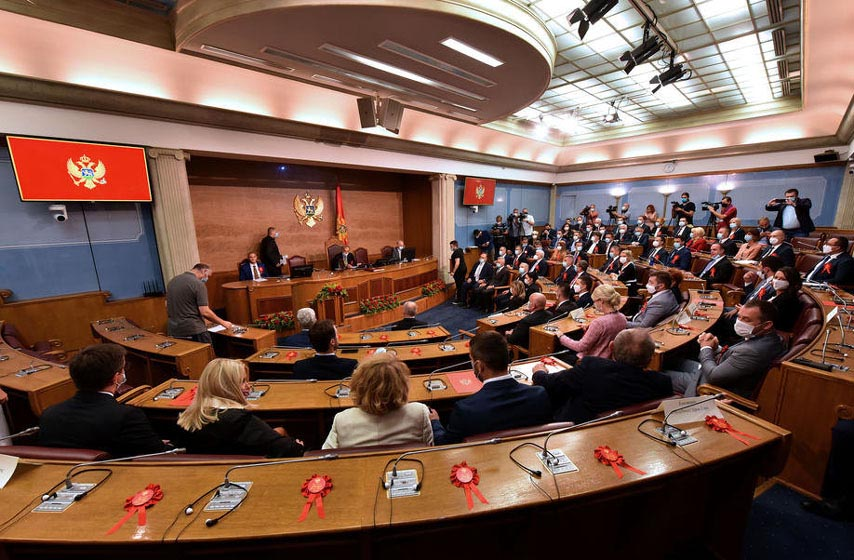 vlada crne gore, demokratski front