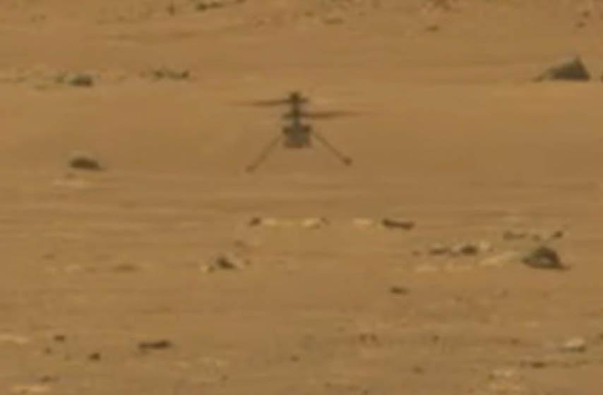 nasa, helikopter leteo iznad marsa