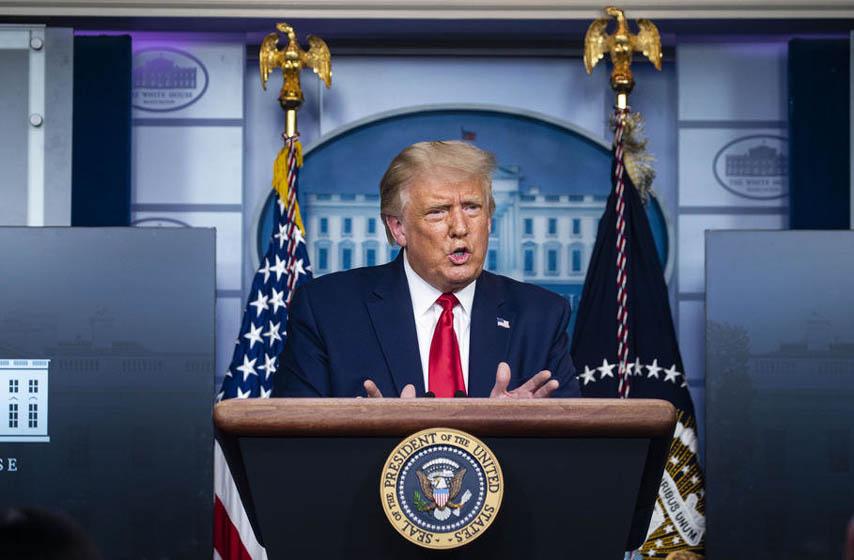 Donald tramp, koverta sa otrovom