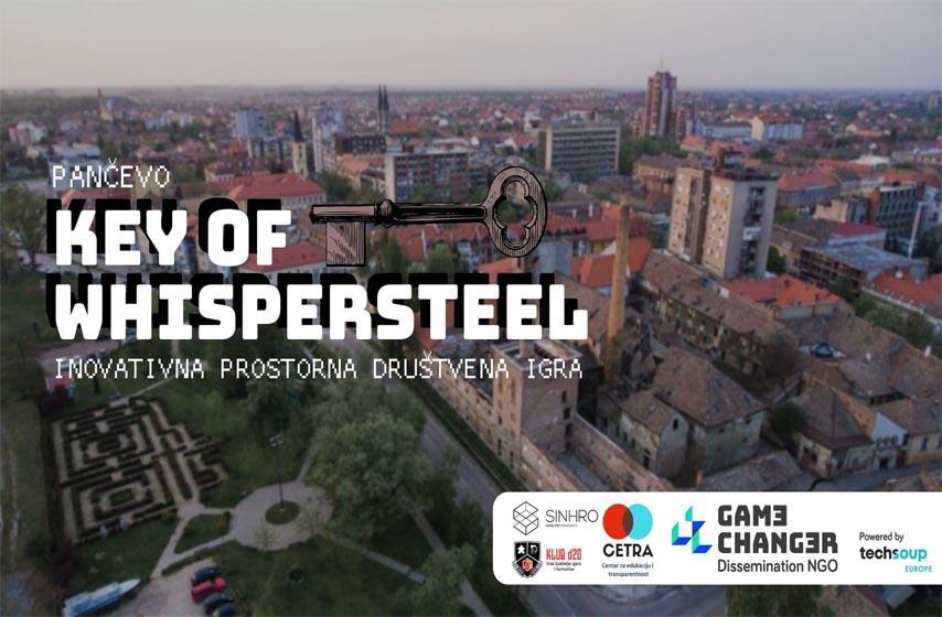 centar za edukaciju i transparentnost, sinhro hub, klub d20, projekat game changer, drustvena igra Key of Whispersteel