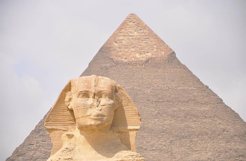 egipatske statue, polomljen nos, egipat, statue