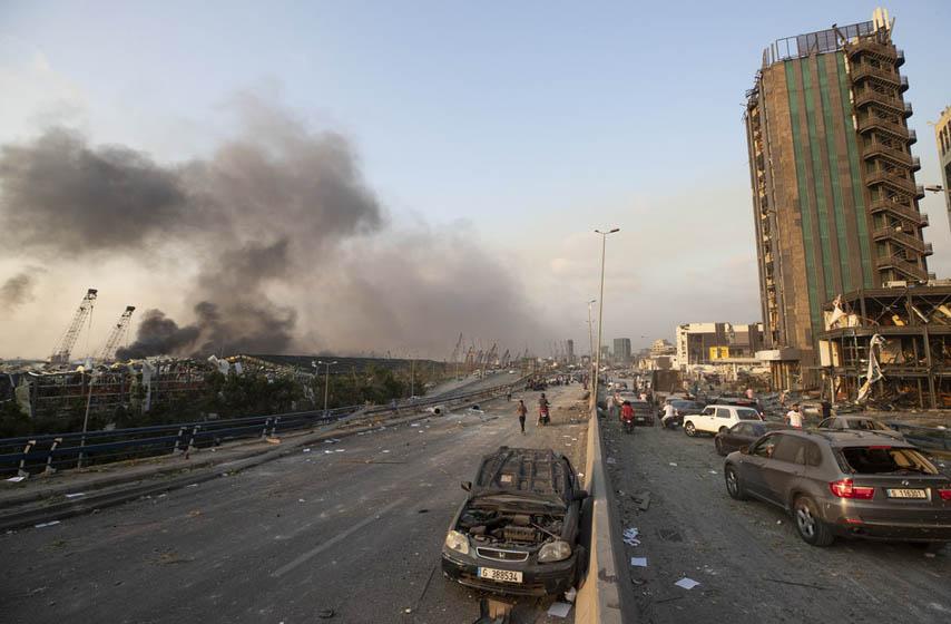 Bejrut eksplozija, Bejrut