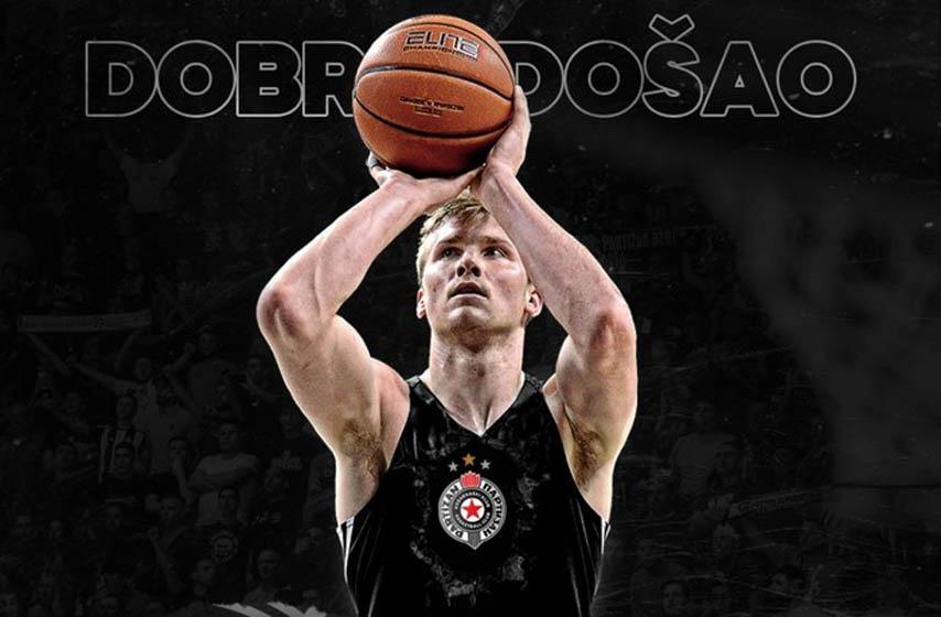 Partizan, košarka, sport, Erik Mika