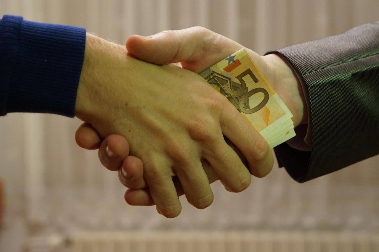davanje mita, mito i korupcija