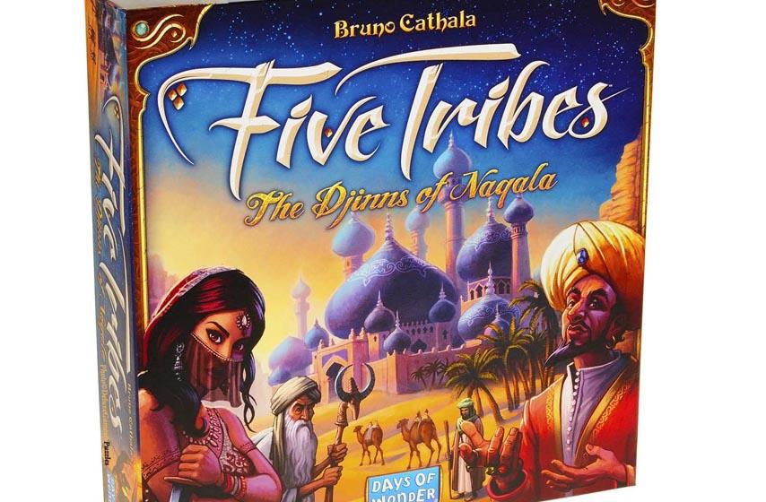 drustvena igra five tribes, five tribes, drustvene igre, klub d20