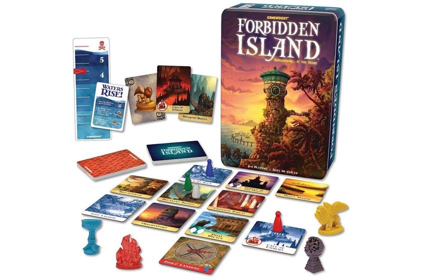 društvene igre, forbidden island, klub d20