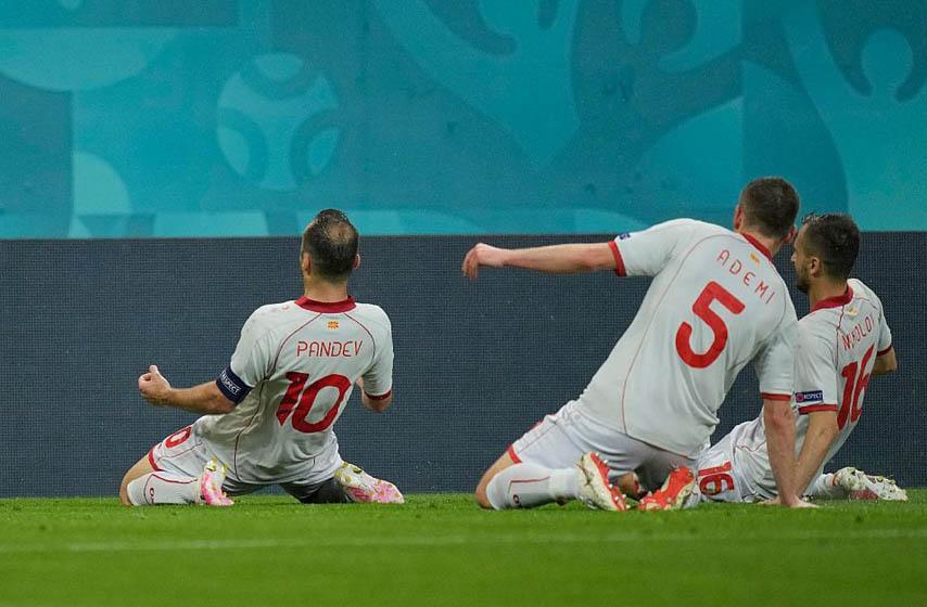 dresovi severne makedonije, fudbal, euro 2020