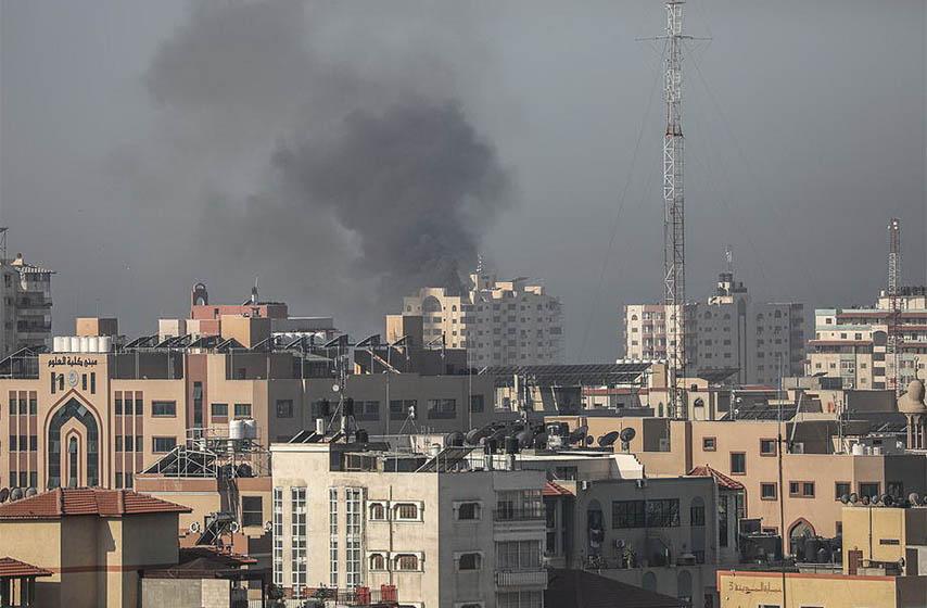 izrael vazdusni napad, pojas gaze