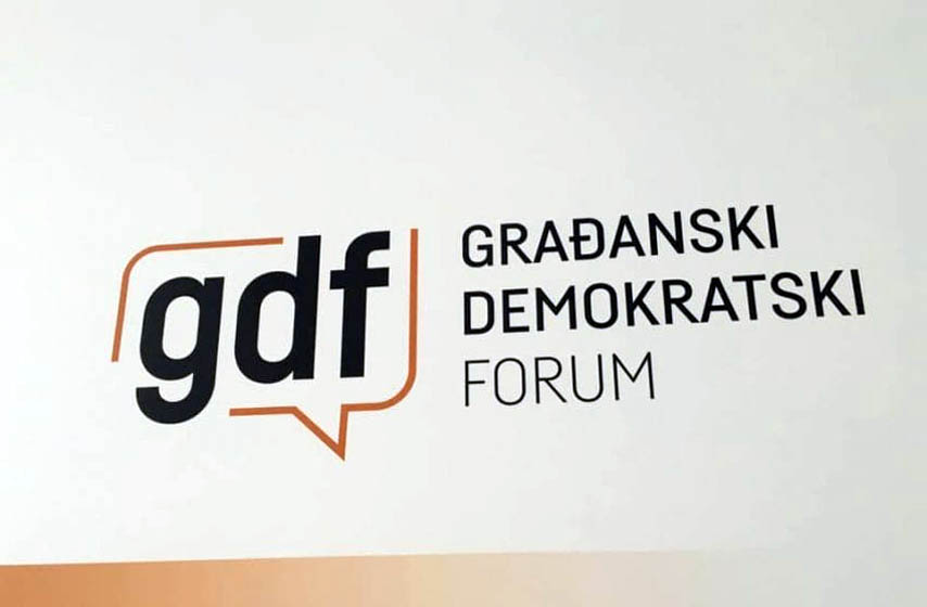 gradjanski demokratski front, gdf