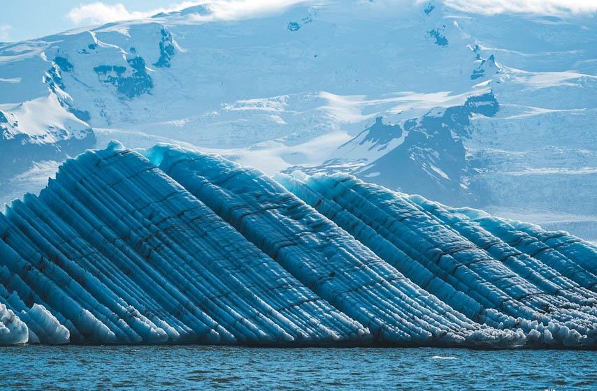 Grenland, led, otopljavanje