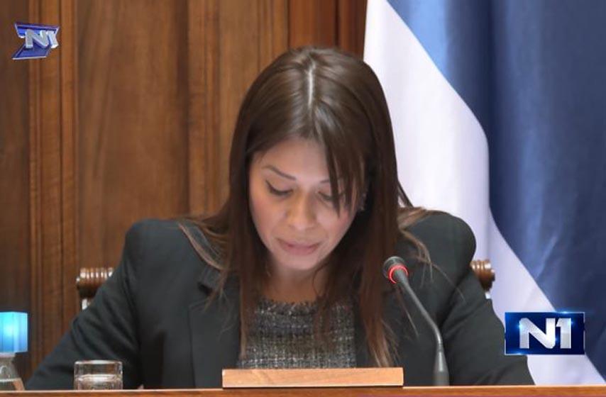 irena vujovic, ministarka zastite zivotne sredine