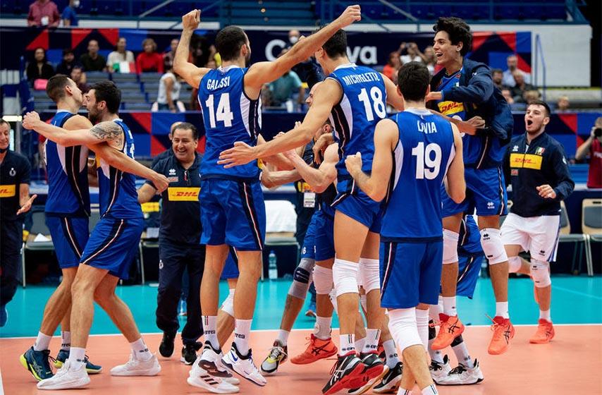 odbojkasi srbije, evropsko prvenstvo u odbojci, srbija italija