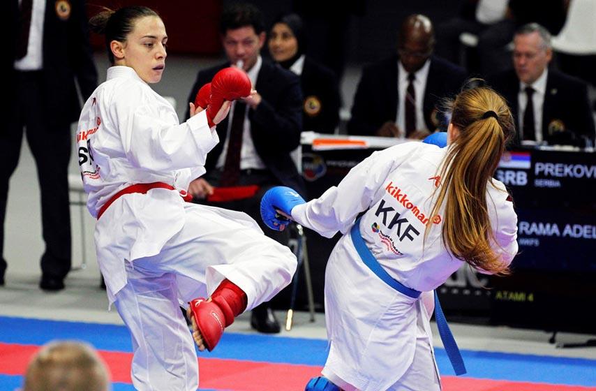 jovana prekovic, karate, premijer karate liga