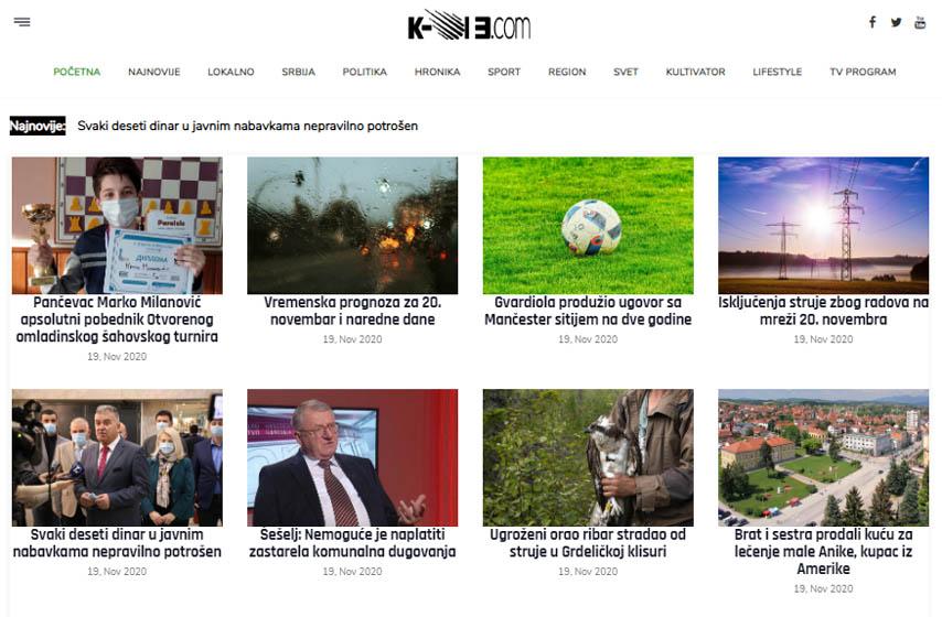 nezavisni mediji, k-013, pancevo
