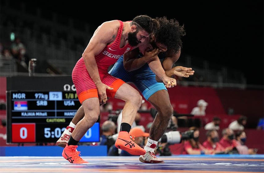 mihail kadzaj, rvanje, olimpijske igre tokio