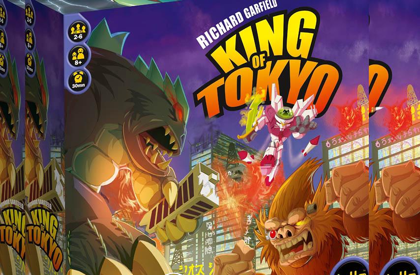 King of Tokyo, drustvene igre, d20