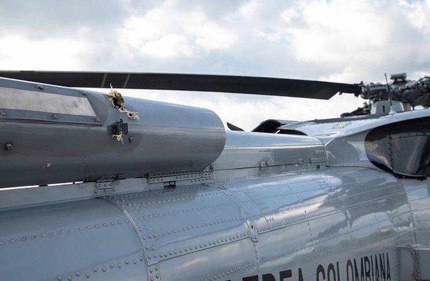 helikopter predsednika kolumbije