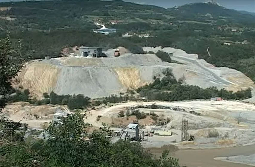 rudnik zidjin, naselje krivelj, krivelj iseljenje
