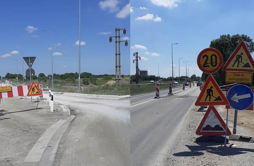 Rekonstrukcija kružnog toka na Jabučkom putu, kružni tok, Jabučki put