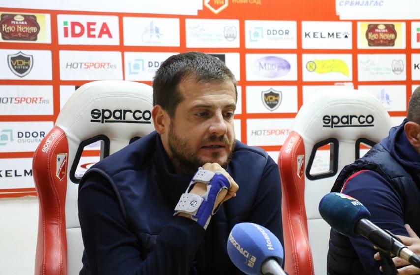 fudbal, vojvodina, lalatovic nenad, trener fudbalera vojvodine, superliga srbije
