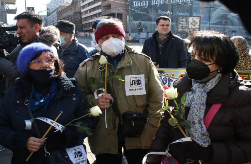 protest zdravstvenih radnika, rade panic, sindikat zdravstvenih radnika
