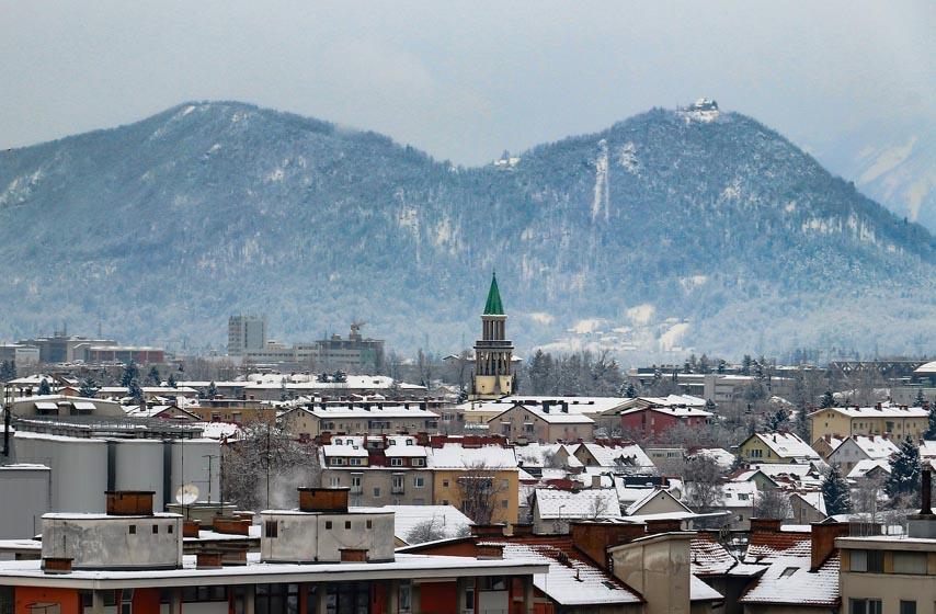 strajk policije u sloveniji