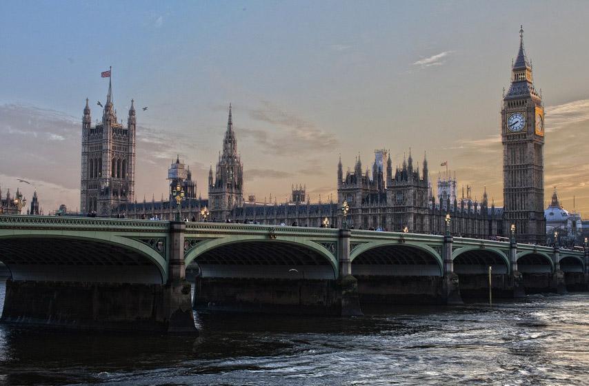 turizam, Velika Britanija, karantin