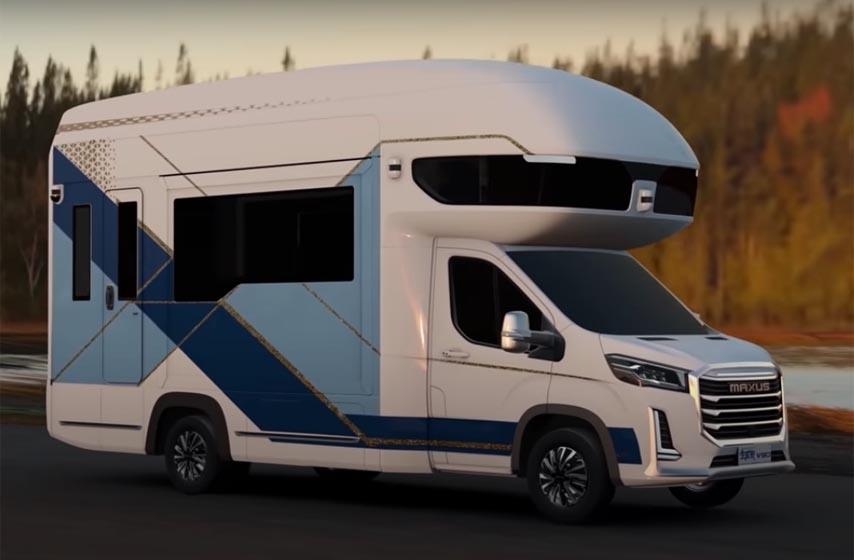 maxus camper, kamper vozilo
