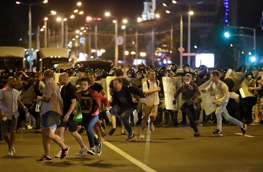 Belorusija, Lukašenko, protesti