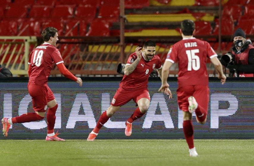 reprezentacija srbije, srbija pobedila irsku, fudbal, sport