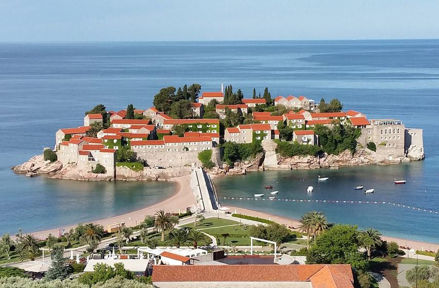 Crna Gora, Albanija, turizam, region