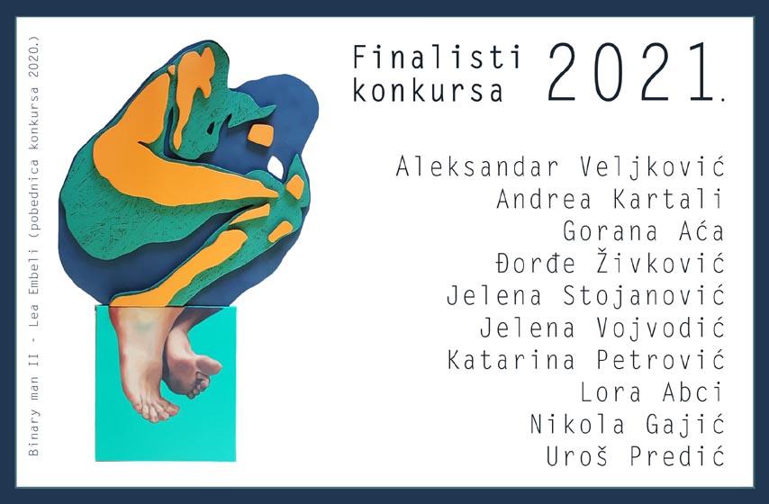 nagrada za mlade umetnike panceva 2021