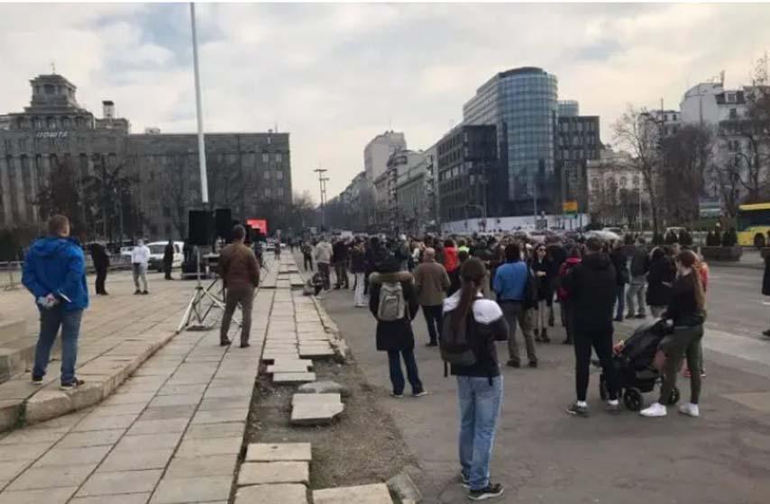 protest malih preduzetnika u beogradu