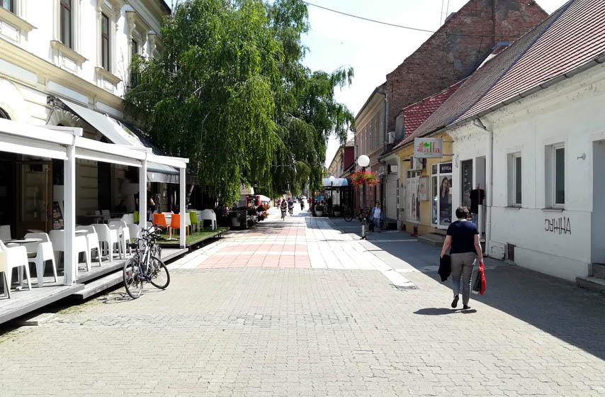 pancevo, rekonstrukcija njegoševe ulice, najnovije vesti