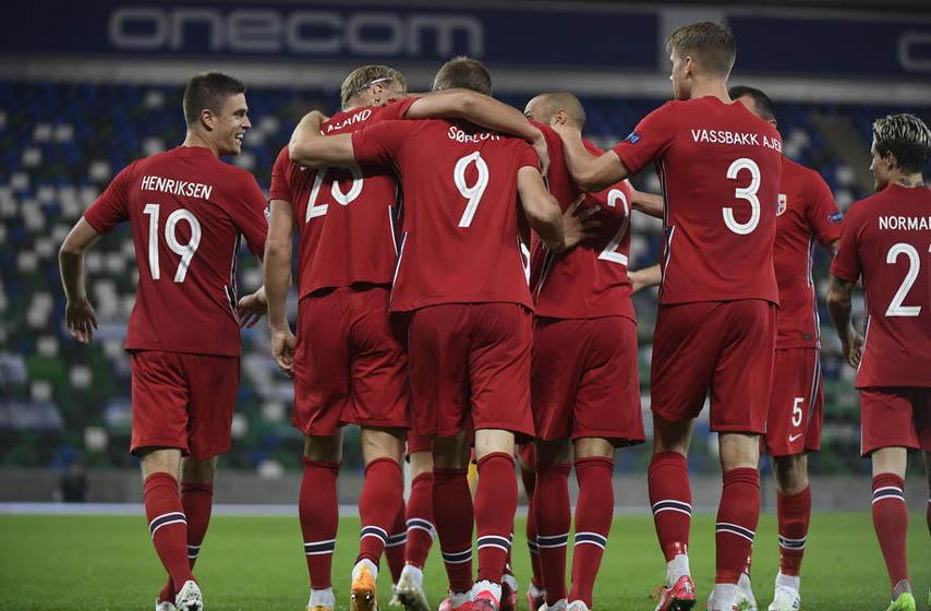 fudbal, norveška, reprezentacija srbije