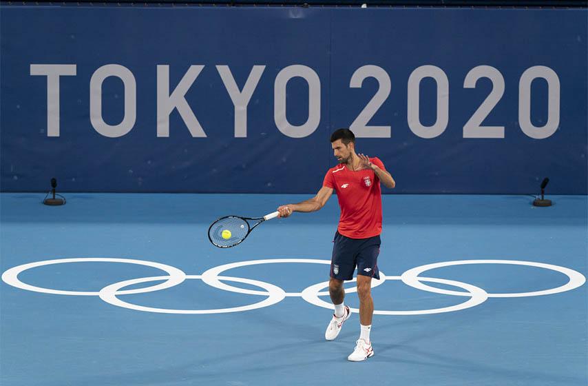 novak djokovic, olimpijske igre tokio, tenis