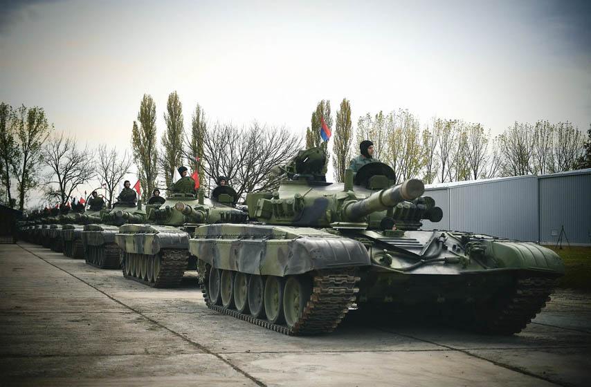 ruski tenkovi, batajnica, aerodrom