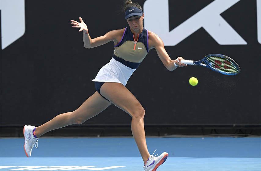 olga danilovic, tenis, us open