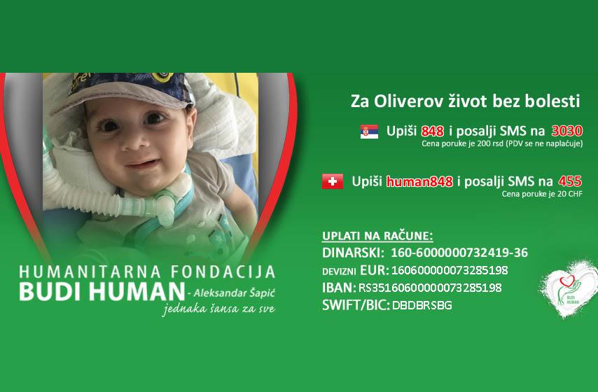 oliver pal gajodi, budihuman, humanitarne akcije
