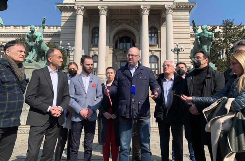 opozicione stranke, platforma  o poboljšanju izbornih uslova
