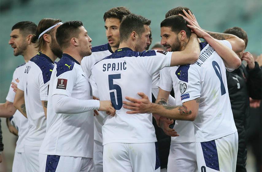 fudbalska reprezentacija srbije, srbija luksemburg