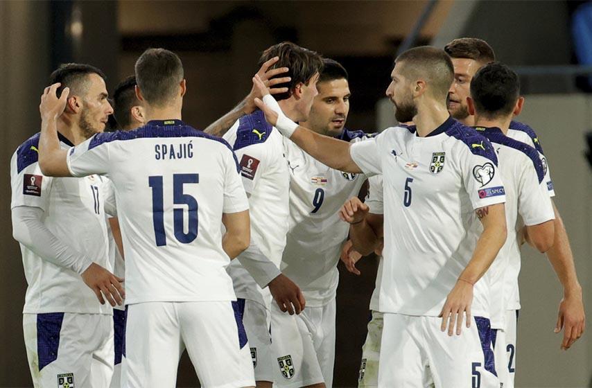 srbija luksemburg, fudbal, kvalifikacije za sp katar