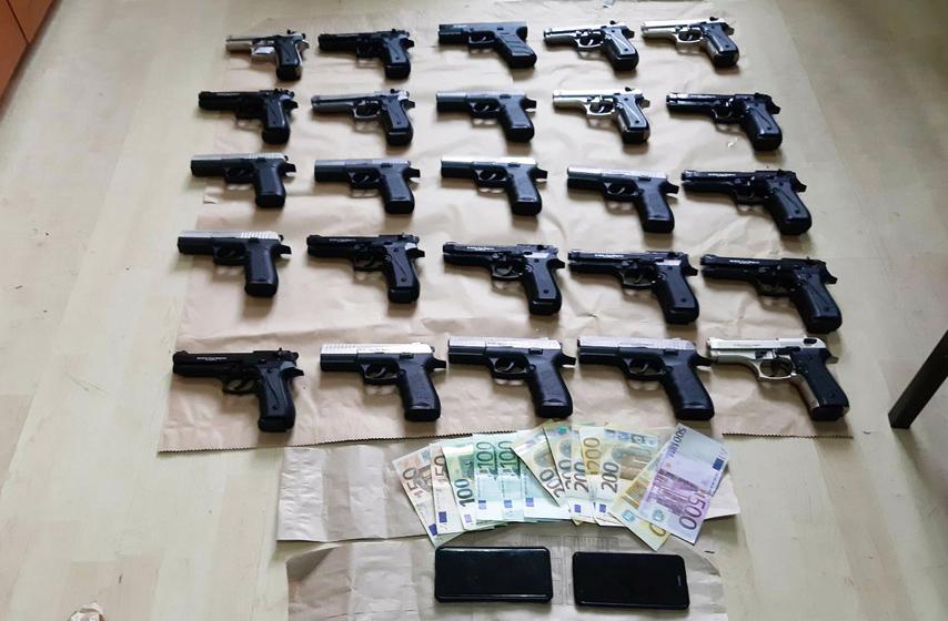 policija, hapšenje, oružje, arsenal, Užice, hronika
