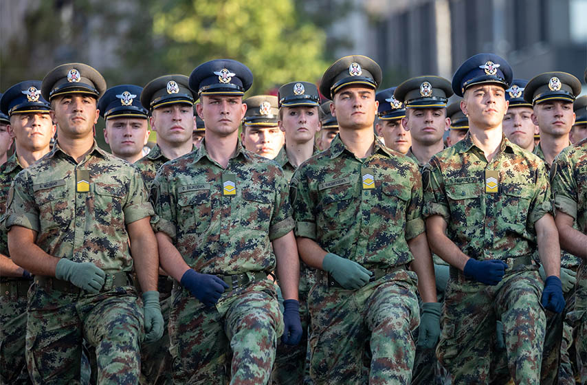 promocija najmladjih oficira vojske srbije