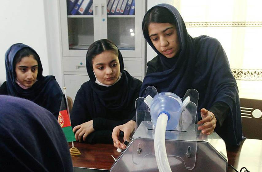 respirator, avganistan