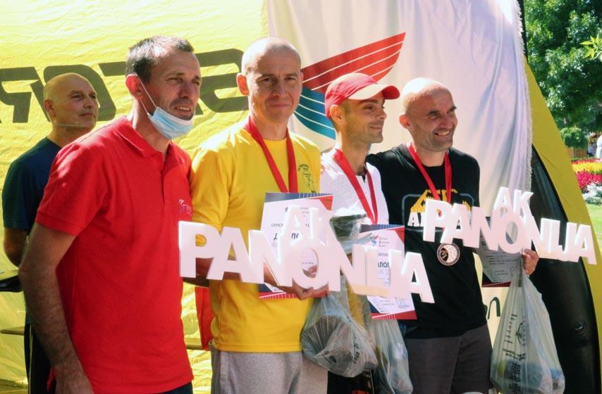 AK Panonija, ultramaraton, palić, atletika, sport
