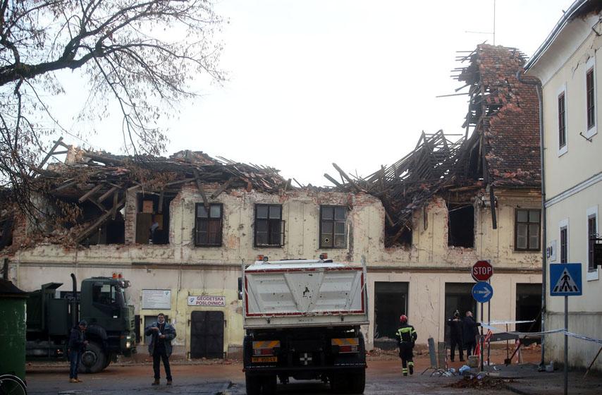 petrinja zemljotres, hrvatska