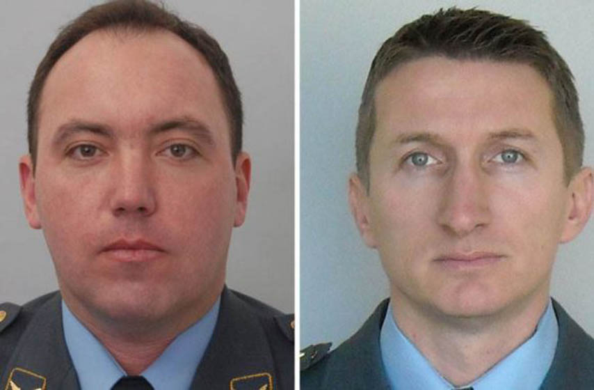 poginuli piloti, avion pao kod malog zvornika, Dejan Krsnik, Zvonko Vasiljev, piloti, vojska srbije